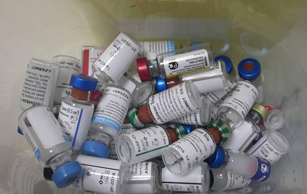 Утилизация вакцин