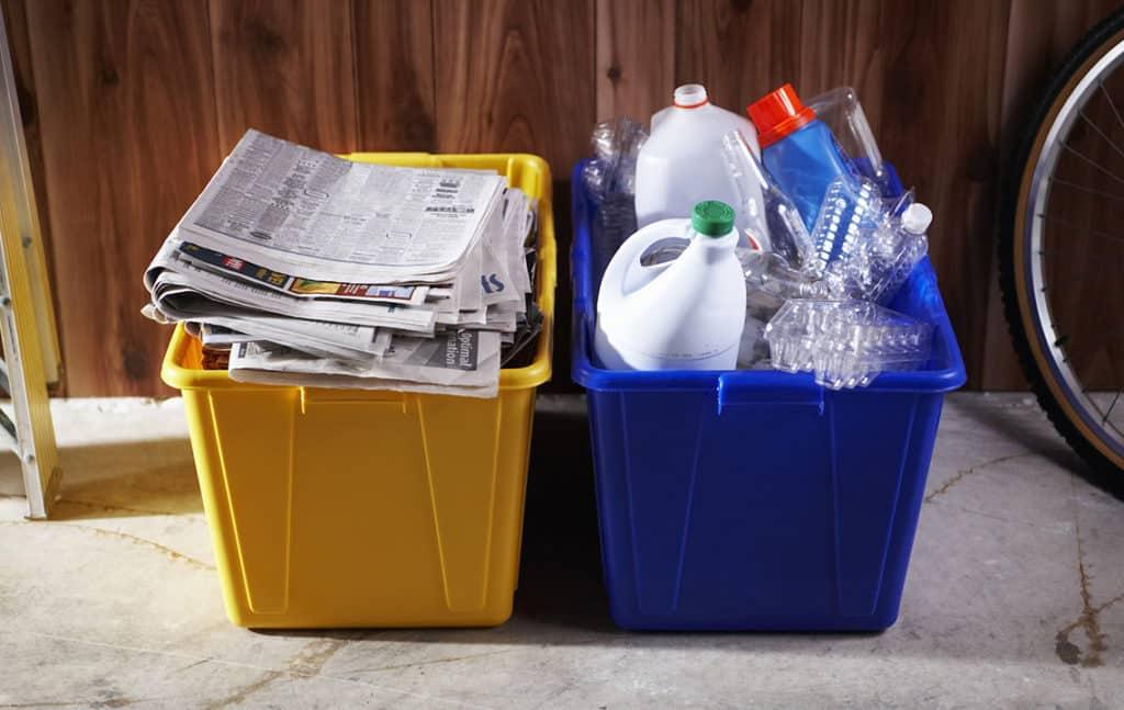 Отходы в коробках
