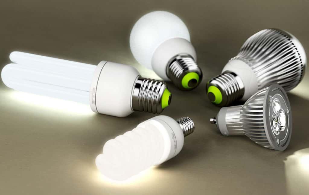 Разные энергосберегающие лампы