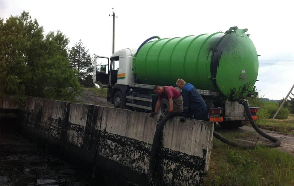 Утилизация жидких отходов