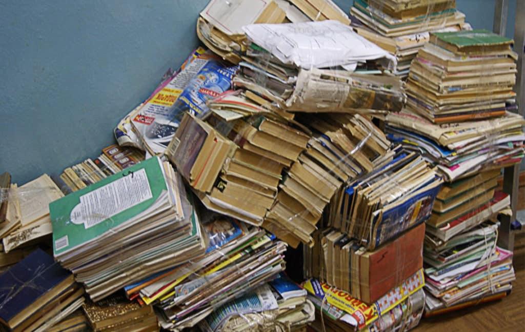 Утилизация отходов библиотеки