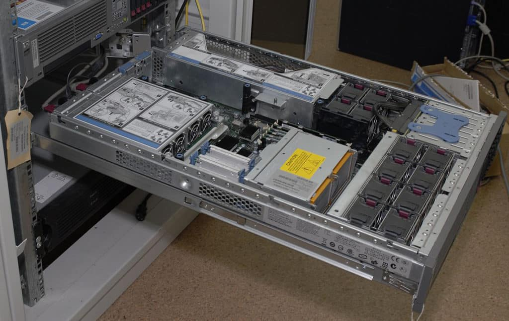 Старый сервер