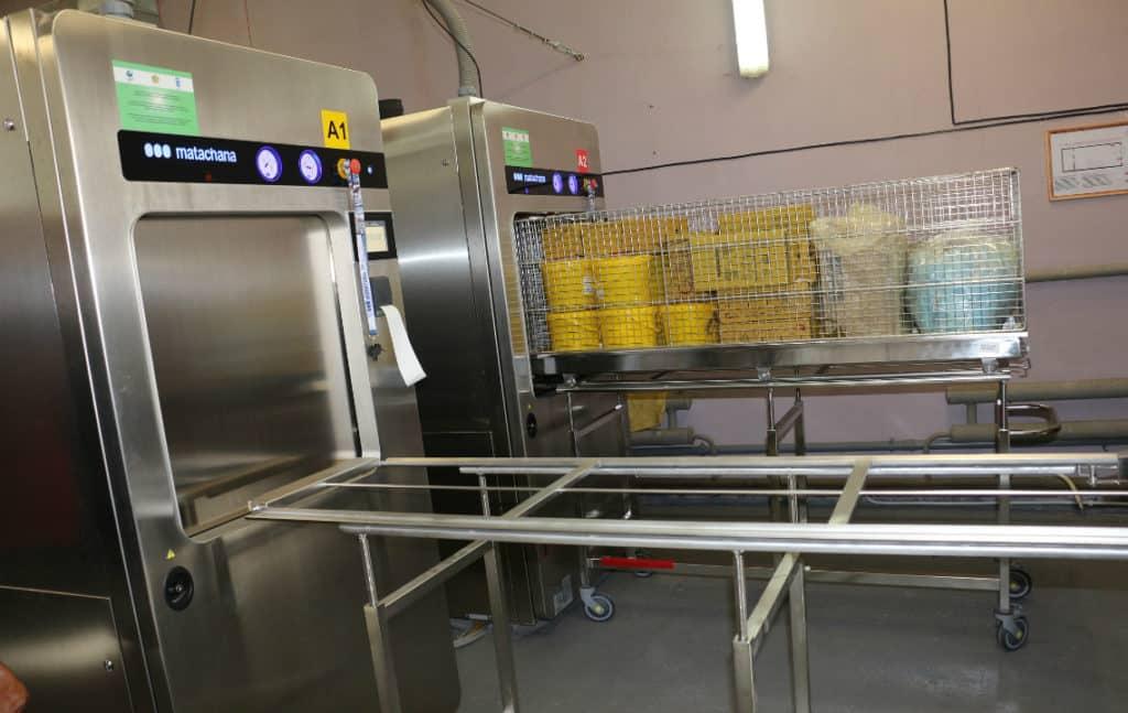 Установка по утилизации медицинских отходов
