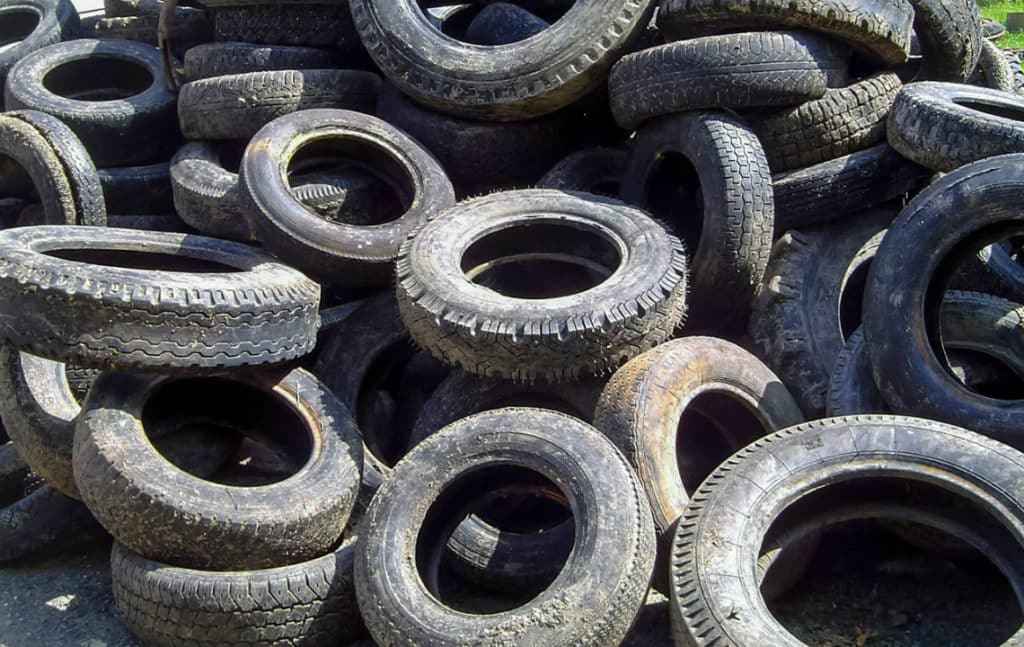 Старые шины